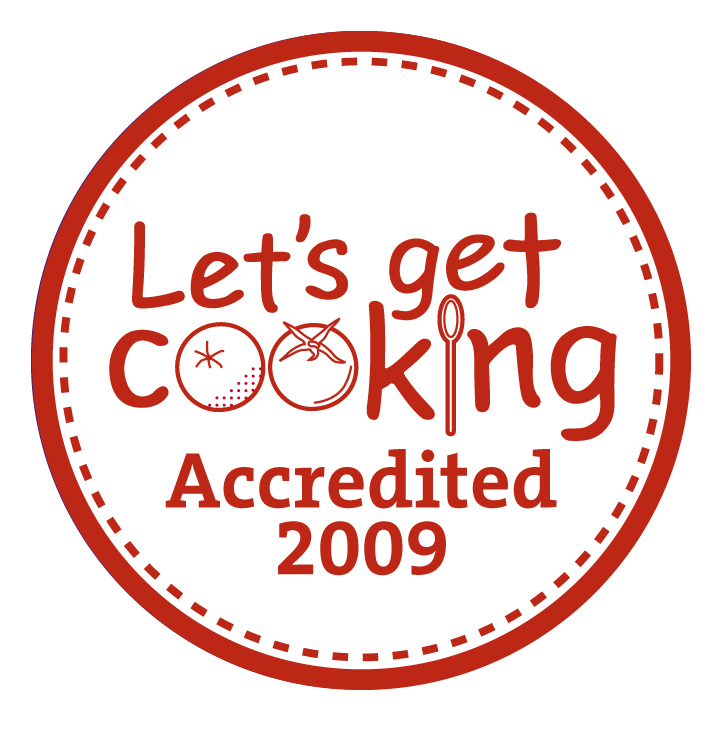 Let's get cooking - Accredited 2009